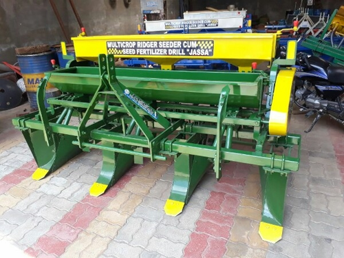 Multicrop Ridger Seeder