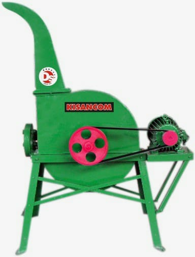 Steel Geared Chaff Cutter with Upward and Downward Blower
