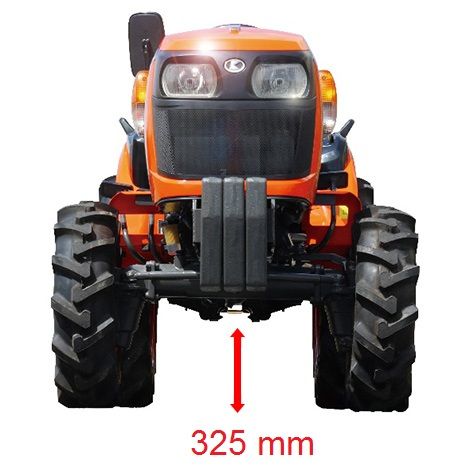Kubota A211N-OP Little Master With Optical Width Tractor
