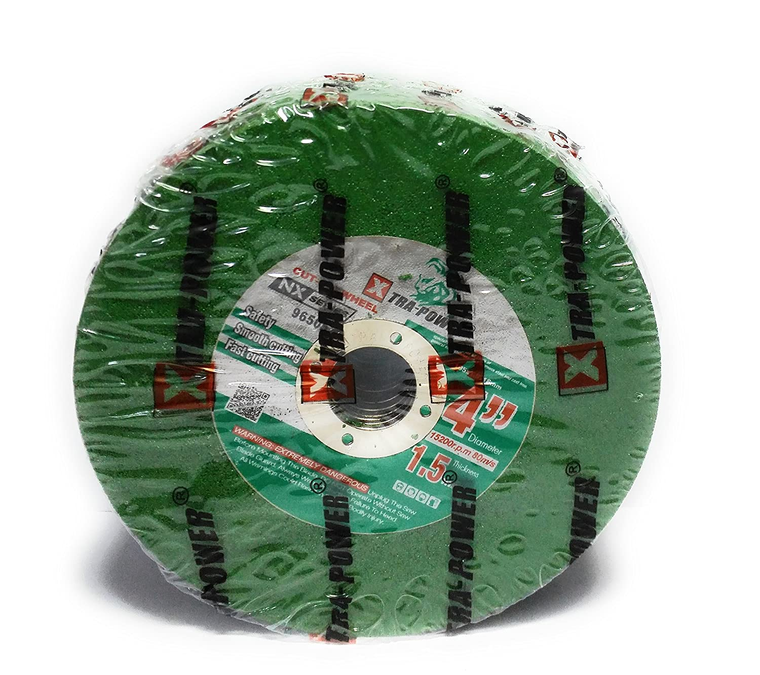 Tool House (Xtra-Power) Cutting Wheel (Green, 4-inch) - Pack of 50 Pieces