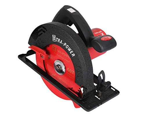 Xtra Power Circular Saw Machine XPT443 Professional Power Tools (Red and Black)