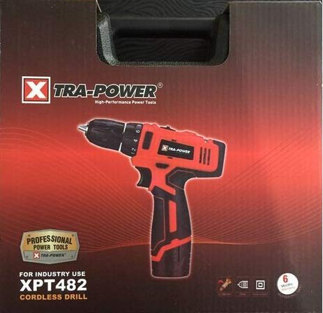 Xtra Power Professional XPT 482 Cordless Drill Machine Left/Right