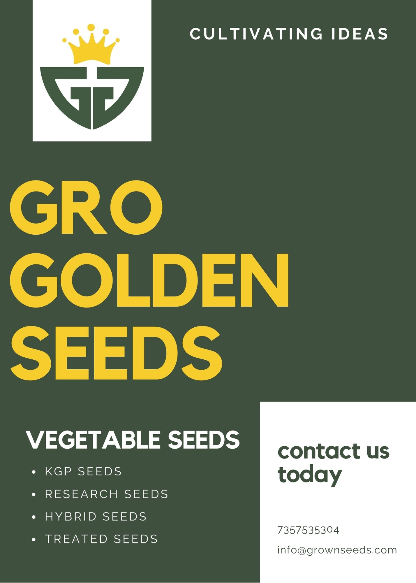 Research Vegetable Seeds